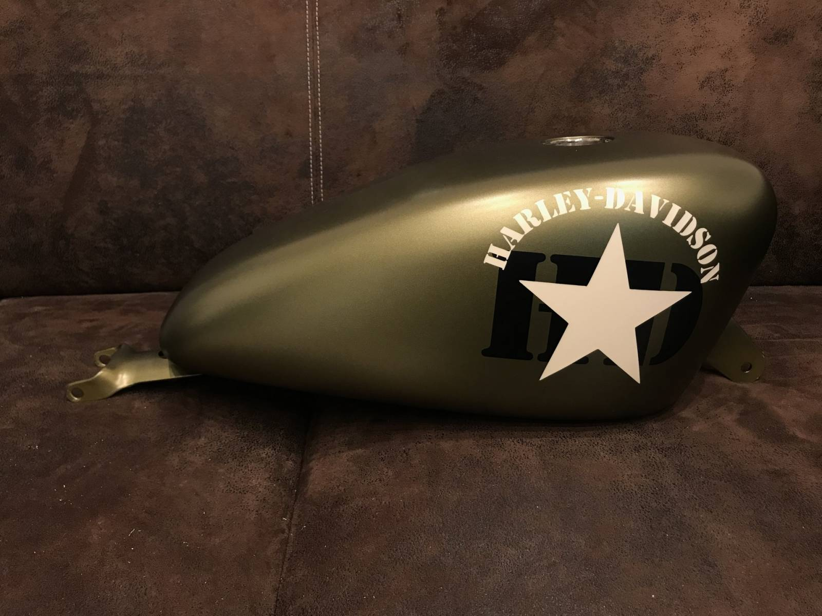 Peinture réservoir Harley Davidson à la Ciotat - Peinture ...